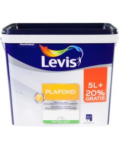LEVIS PLAFOND WIT EXTRA MAT 5+1L