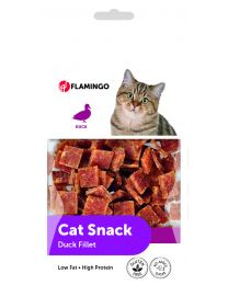 FLAMINGO DUCK FILLET BITES CAT 50GR