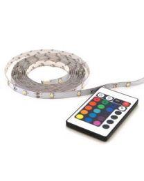PROLIGHT LED STRIP 2M + AFSTANDSBEDIENING RGB
