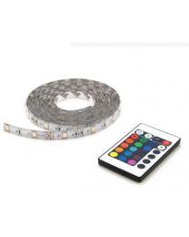 PROLIGHT LED STRIP RGB 2M + AFSTANDSBEDIENING