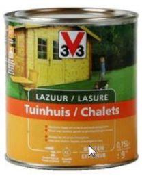V33 LAZUUR TUINHUIS HOUTTINT 0.75L SATIJN MAHONIE
