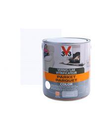 V33 VERNIS/LAK PARKET COLOR 0.75L SATIJN WIT