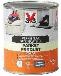 V33 VERNIS/LAK PARKET COLOR 0.75L SATIJN PEPER