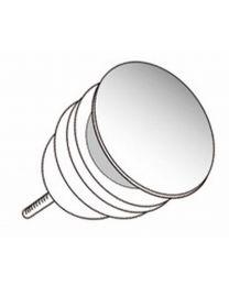 ALLIBERT OPTIES WASTAFELS AFVOERPLUG CLICK-CLACK - 6,5 X 7,5 X 6,5 CM - CHROOM GLANZEND