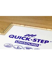 QUICK-STEP UNISOUND COMBI ONDERVLOER WIT 15Mᄇ/ROL