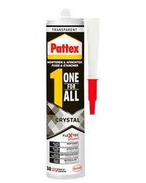 PATTEX ONE FOR ALL CRYSTAL 290GR