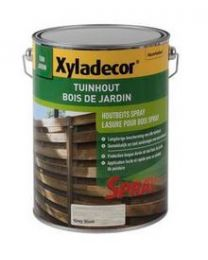 XYLADECOR TUINHOUTBEITS SPRAY 5L GREY WASH