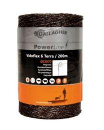 GALAGHER VIDOFLEX 6 POWERLINE TERRA 200M