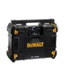 DEWALT TSTAK RADIO + XR LADER DWST1