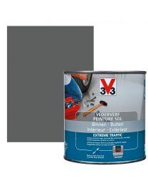 V33 VLOERFVERF BINNEN - BUITEN EXTREME TRAFFIC 0,5L ZIJDEGLANS GRAFIET
