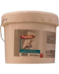 PAINT IT MUURVERF SOFT WHITE 10L
