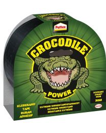 PATTEX CROCODILE TAPE 30M ZWART