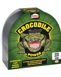 PATTEX CROCODILE TAPE 30M GRIJS