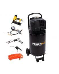 POWERPLUS POWX1751 COMPRESSOR 1100W 50L