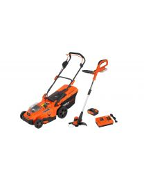 POWDPG75620 GRASMAAIER 40V+TRIMMER 20V+LADER+BAT