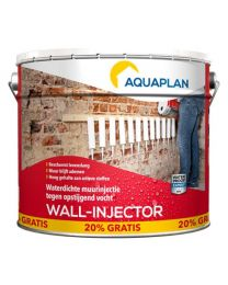 AQUAPLAN WALL-INJECTOR REFILL 10L MET 20% GRATIS
