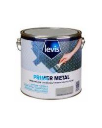LEVIS PRIMER METAL WIT MAT 2,5L