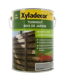 XYLADECOR TUINHOUTBEITS SPRAY SATIN GREY WASH 5 L