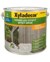 XYLADECOR VERGRIJSD EFFECT GRIJS 2.5L