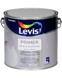 LEVIS PRIMER MUUR EN PLAFOND GRIJS MAT 2,5L