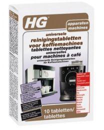HG UNIV.REINIGINGSTABLETTEN KOFFIEMACHINE 10ST