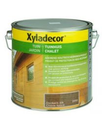 XYLADECOR TUINHUIS 2.5L DONKERE EIK