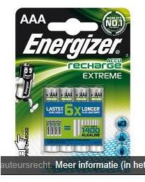 ENERGIZER 4 ACCUS AAA EXTREME 800MAH