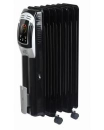 PCL308 OLIEGEVULDE RADIATOR - FOGO ZWART 1500W