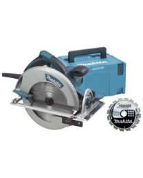 MAKITA 5008MGJX CIRKELZAAG 210MM 1800W
