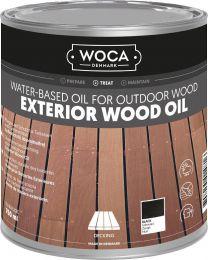 WOCA EXTERIOR OIL EXCLUSIVE ZWART 750ML