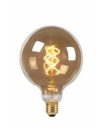 LAMP LED GLOBE 12.5CM 5W 180LM 2200K DIM SMOKE