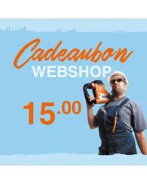 CADEAUBON WEBSHOP 15 EURO