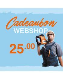 CADEAUBON WEBSHOP 25 EURO