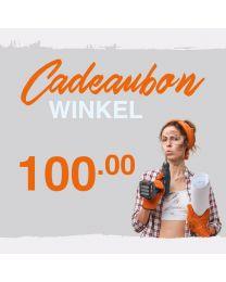CADEAUBON WINKEL 100 EURO