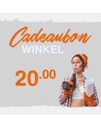 CADEAUBON WINKEL 20 EURO