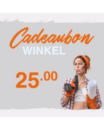 CADEAUBON WINKEL 25 EURO